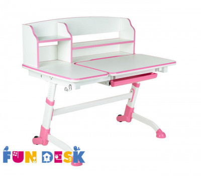 Парта Fun Desk Amare II розовый