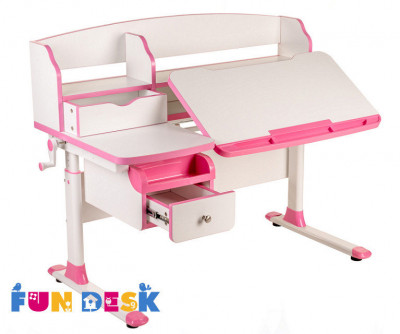 Парта Fun Desk Sognare розовый